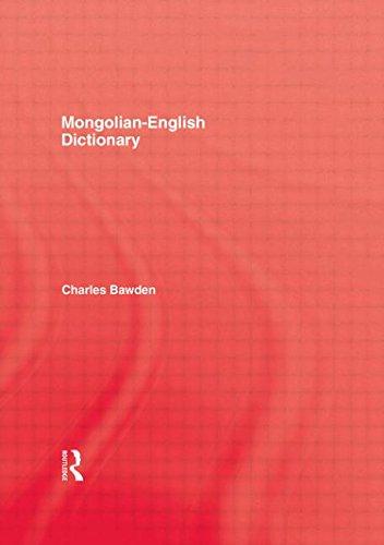 9780710304391: Mongolian English Dictionary