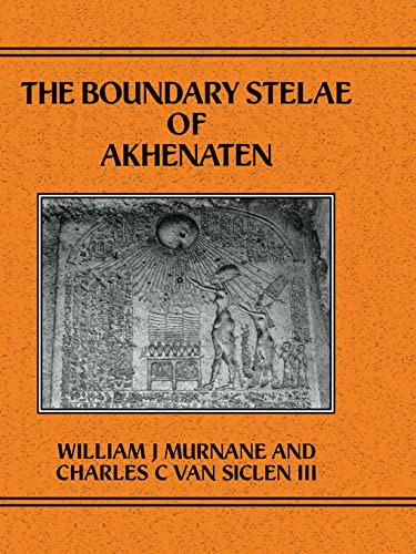 9780710304643: Boundary Stelae Of Akhentaten (Studies in Egyptology)