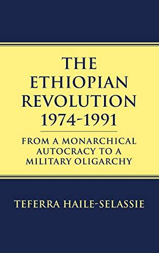 9780710305657: The Ethiopian Revolution: 1974-1991