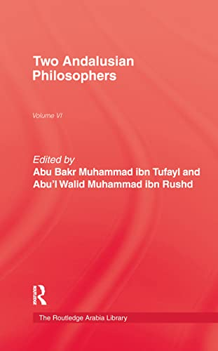 Two Andalusian Philosophers (0710306431) by Ibn Rushd; Jim Colville; Ibn Tufayl
