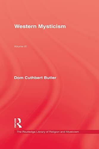 9780710306623: Western Mysticism