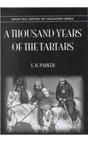 9780710307460: A Thousand Years of the Tartars