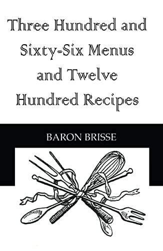 9780710308245: Three Hundred & Sixty Six Menus (Kegan Paul Library of Culinary Arts)