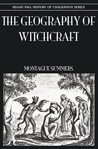 9780710308962: Geography Of Witchcraft (History of Civilization)