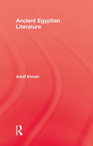 9780710309648: Ancient Egyptian Literature (Kegan Paul Library of Ancient Egypt)