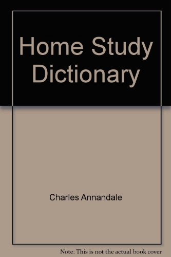 9780710502612: Home Study Dictionary
