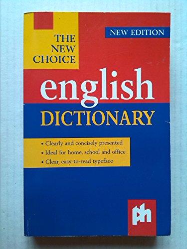 Choice English Dictionary: Various