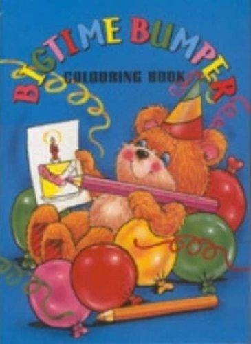 9780710503503: Big Time Bumper Colouring Book