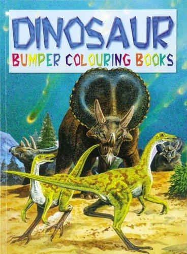 9780710511904: Dinosaur Bumper Colouring Book