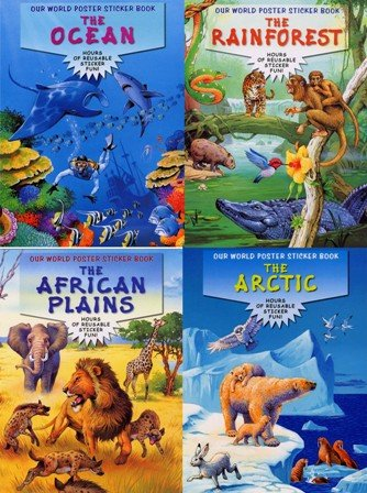 Our World Poster Sticker Book: Peter, Haddock Publishing