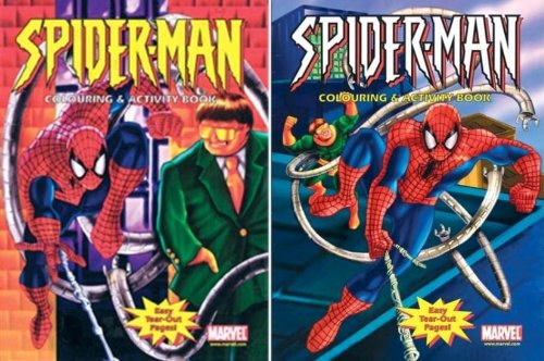 9780710514684: Spiderman Colouring & Activity Book (A225) 12 per pack