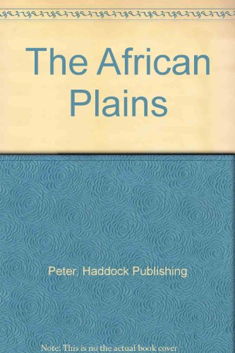 9780710515667: The African Plains