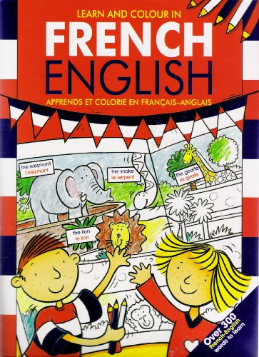 9780710517517: LIVRE LEARN AND COLOUR IN FRENCH ENGLISH