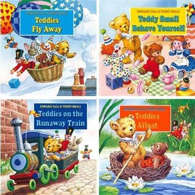 9780710520289: Edward Tall & Teddy Small Board Book 4 PER PACK (A895)