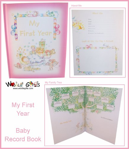 9780710522351: Baby Record Book - My First Year - Girl