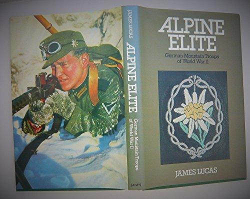 9780710600639: Alpine Elite: German Mountain Troops