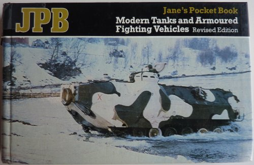 9780710600929: Jane's Pocket Book of Modern Tanks and Armoured Fighting Vehicles