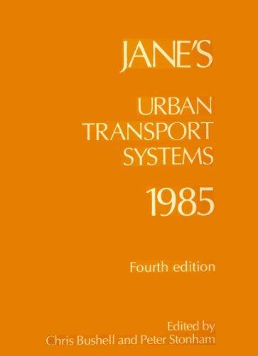 9780710608109: Jane's Urban Transport Systems 1985 (Jane's Yearbooks)