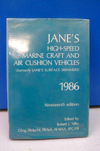 Jane's High Speed Marine Craft and Air: Trillo, Robert