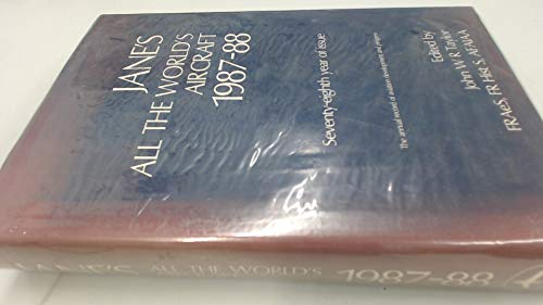 9780710608505: Jane's All the World's Aircraft 1987-88