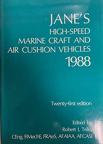 Jane's High Speed Marine Craft and Air: Trillo, Robert Editor