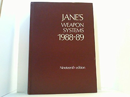 9780710608550: Jane's Weapon Systems, 1988-89 (JANE'S LAND-BASED AIR DEFENCE)