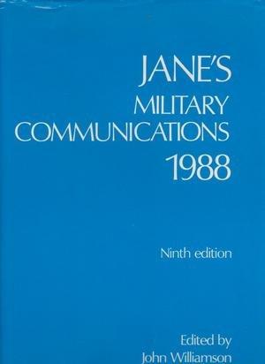 JANE'S MILITARY COMMUNICATIONS NINTH EDITION: Williamson, John