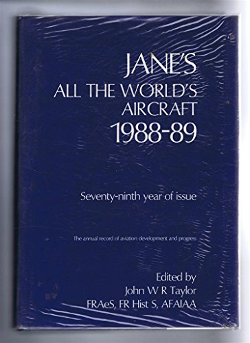 9780710608673: Jane's All the World Aircraft 1988-89