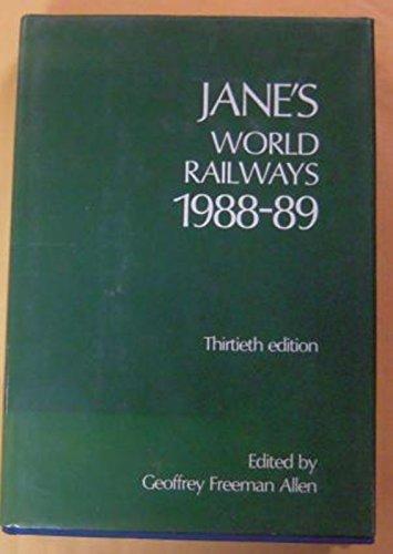 Jane's World Railways, 1988-89: Allen, Geoffrey F.