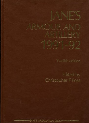 9780710609649: Jane's Armour and Artillery 1991-92
