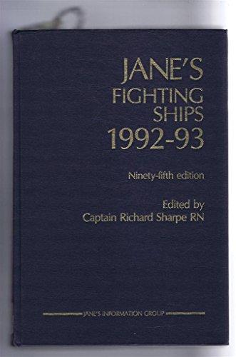 Jane's Fighting Ships 1992-93: Sharpe, R. (editor)