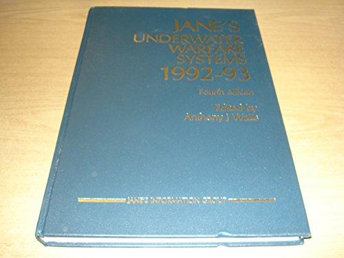 Jane's Underwater Warfare Systems, 1992-93: Watts, Anthony J., ed.