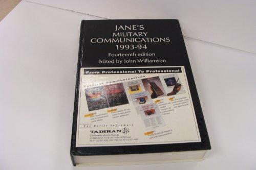 JANE'S MILITARY COMMUNICATIONS. 1993-94: Williamson, John (Ed)