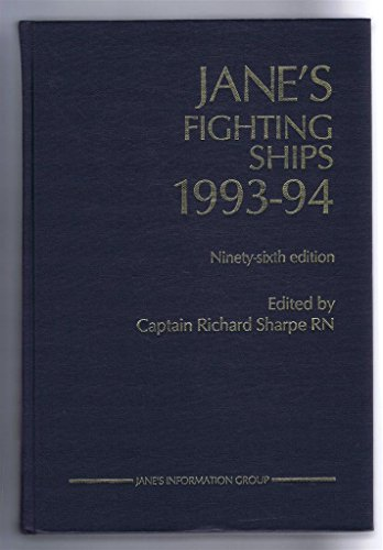 Jane's Fighting Ships : 1993-94: Sharpe, Captain Richard {Editor}