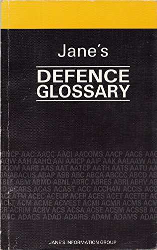 9780710611185: Jane's Defence Glossary