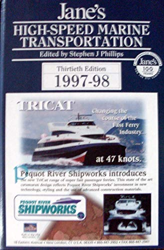 9780710615473: Jane's High Speed Marine Transportation 1997-98