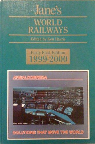 9780710619228: Jane's World Railways 1999-2000