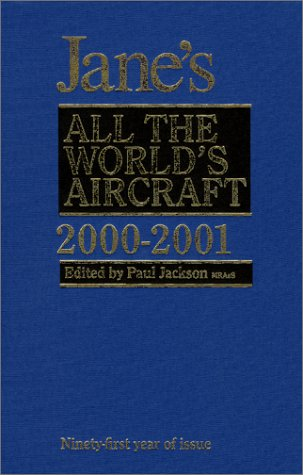 9780710620118: Jane's All the World's Aircraft 2000-2001