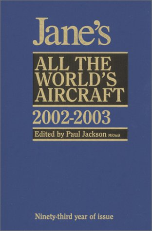 9780710624239: Jane's All Worlds Aircraft, 2002-2003 (Jane's All the World's Aircraft)