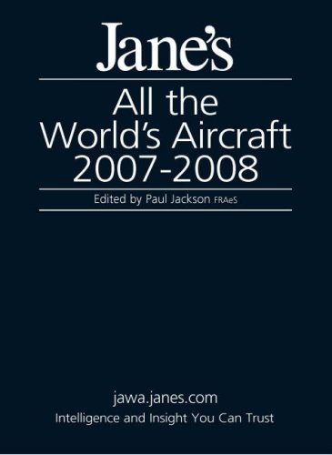 9780710627926: Jane's All the World's Aircraft 2007/2008