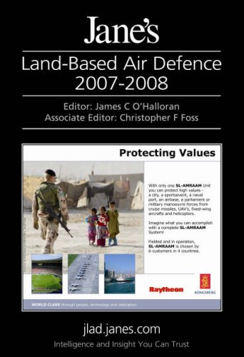 9780710628046: Jane's Land-based Air Defence 2007-2008