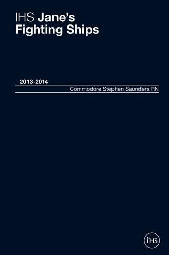 9780710630483: IHS Jane's Fighting Ships 2013-2014