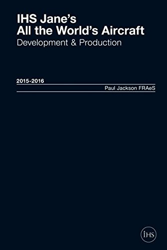 9780710631350: Jane's All the World's Aircraft: Development & Production 2015-2016 2015-2016