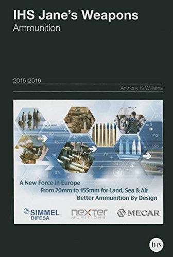 9780710631503: IHS Jane's Weapons Ammunition 2015-2016 (Jane's Weapon Systems Ammunition)