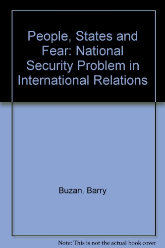 9780710801012: People, States and Fear: National Security Problem in International Relations