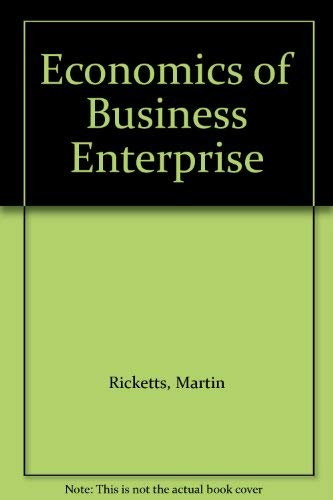9780710802217: Economics of Business Enterprise