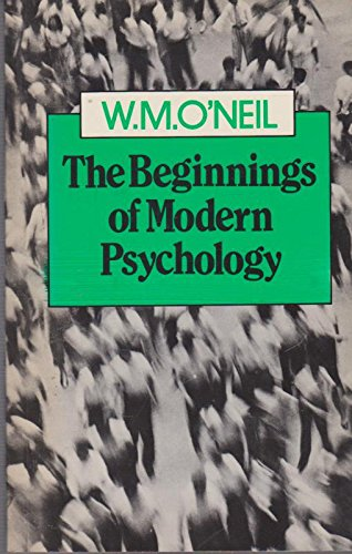 9780710803290: Beginnings of Modern Psychology