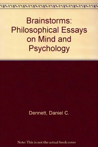 9780710803313: Brainstorms: Philosophical Essays on Mind and Psychology
