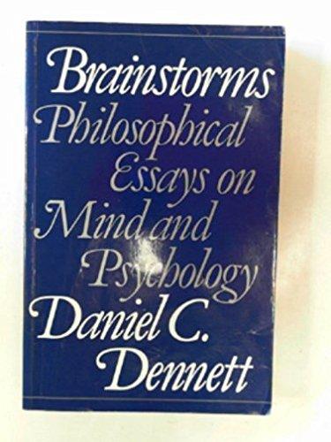 dennett brainstorms philosophical essays on mind and psychology
