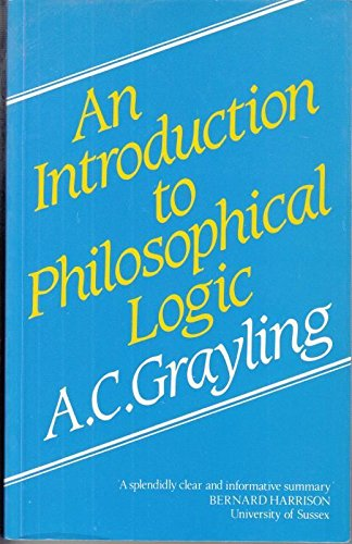 9780710804211: An Introduction to Philosophical Logic